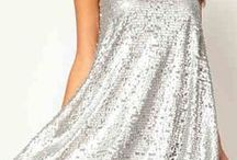 Silver / Silver Fashion, Silver Dresses, Everything with Silver, Clothing and Accessories...