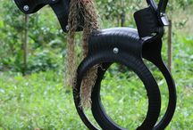 Recycled tyre ideas