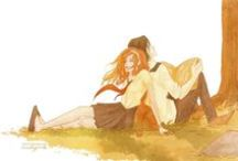 Lily e Sev / I would like to make it clear that I am Jily Forever, and I am totally against Severus and Lily. :I