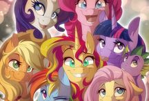 my little pony and human / MLP