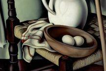 Tamara de Lempicka - Georgia O Keeffe
