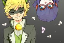 miraculous ladybug and chat noir / Ladybug and chat noir