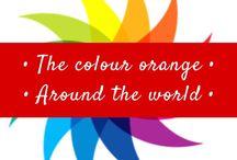 • Orange - the colour orange around the world • / My favourite colour - orange really is the happiest colour!