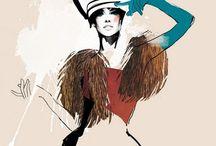 • F A S H I O N / Fashion Illustration
