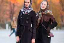 Moscow fashion week - patterns & prints on streets