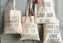 Tote Bag / #sac#coton#bio#rėutilisable