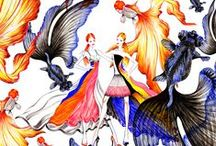 Dior my Love illustrated