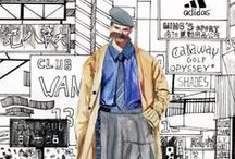 Men's fashion illustrated
