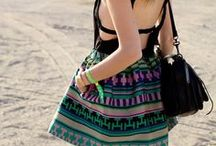 Aztec print in fashion
