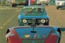 Automobilia and Car Nerd-age / Favourite cars and automotive gubbins. / by Andrew Ball