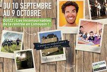 Jouez avec le Limousin ! / Envie de découvrir cette belle région ? Tentez de gagner un séjour dans la Limousin avec nos jeux réguliers.