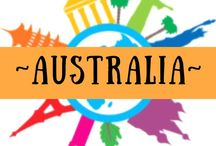 ~ AUSTRALIA ~ / Australia and all it has to offer