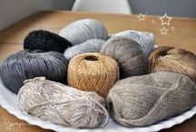 Winter Yarns / Our favourite yarns for knitting and crocheting in the cold winter months!