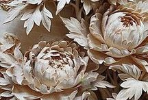 Papierové a plstené kvety