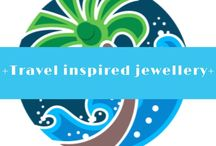 + Travel inspired jewellery + / Jewellery inspired by travel/maps