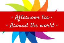 • Afternoon tea around the world • / Places to eat afternoon tea around the world!