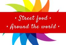 • Street food around the world • / Street food! Makes me hungry just looking at this!