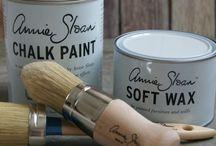 Chalk Paint / How to paint furniture, chalk paint, etc