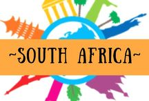 ~ SOUTH AFRICA ~ / South Africa - one of my favourite destinations and also my home for over 10 years