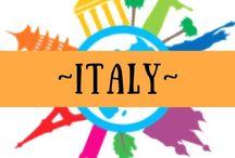 ~ ITALY ~ / All things Italian!!!