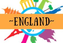 ~ ENGLAND ~ / My home country for the monent - come and find out what there is to do across this green and pleasant land!