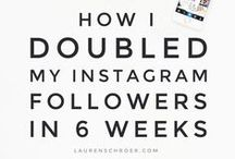 Grow Your Following LIKE A BOSS / Learn from those who've done it.  Grow your blog following, get more instagram followers, attract more followers on twitter, or pinterest, or any other social media hub where you spend your time.