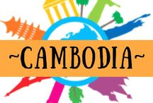~ CAMBODIA ~ / Cambodia - one of the top countries on my bucket list - I am collecting as much information as possible to inform our trip.