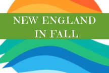* New England in Fall * / On my bucket list! Seeing all the beautiful trees in New England in Autumn