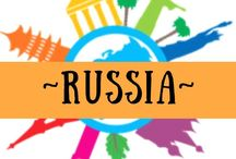 ~ RUSSIA ~ / One of the top countries on my bucket list - collecting ideas for that future visit!