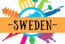 ~ SWEDEN ~ / All about travel to the Scandinavian country of Sweden