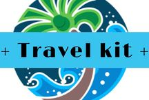 + Travel kit + / Essential travel kit for those travelling around the world - or even closer to home. What do I need?