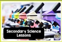Secondary Science Lessons / SECONDARY SCIENCE middle school and high school lessons that inspire students and teachers alike! Lots of great life science, biology, physics, chemistry, and earth science ideas, lessons, projects, labs, and activities for parents, teachers, and students.
