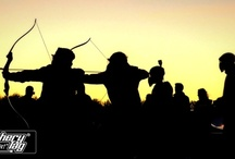 Archery  / These images capture the different thoughts,artistic expressions, and emotions from archery enthusiasts everywhere.