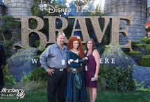 BRAVE / Archery Tag at the World Premiere in Hollywood and pics of our favorite little red-headed heroine