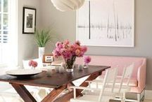 Fine dining / Dine in style with these dining room decor ideas.