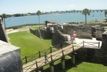 St Augustine- St Augustine Beach / St Augustine is such a beautiful city with an abundance of historic places to visit.