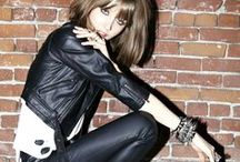 JFJ Styles: Edgy Rock Chic / The rock chic style is cool and little bit edgy. Sexy and chic, you can work it with a relaxed, casual feel or more of a high fashion vibe. And of course, it's not just about the clothes, you'll need to pull the entire style together with the right hair, makeup and jewellery.   This collection of images has been curated by the jewellery stylists at John Franich Jewellers in Auckland. We love our customers. Visit us in-store or online at www.jfj.co.nz.