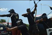 "Licensee: Archery Tag Singapore / ""We conduct Archery Tag programs here in Singapore with very highly experienced facilitators, who are passionate in what they do, to deliver the best experience to you! "" Contact us!  archerytagsg@gmail.com Phone: +65 9786 9083"