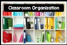 Classroom Organization / What helps teachers keep it together! organize your classroom with cheap tools and neat tricks to get your room in tip top shape for the new school year!