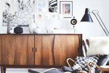 Scandinavian Style / Scandinavian furniture is inspired by Nordic roots and it's a trend that is really popular. It's clean, warm and fresh - but don't worry this style will never go out of fashion!