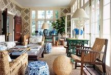 Sunroom / Sunroom interior inspiration / by Medallion Rugs