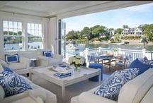 Coastal  / Coastal interior design inspiration / by Medallion Rugs