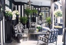 Black and White / Black and white interior design inspiration / by Medallion Rugs