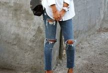 Ripped Destroyed Denim Style