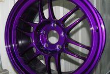 Dormant Purple Powder Coating Powder / Dormant Purple Powder Coated