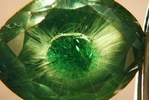 Gemstones of the World / A gemstone or gem (also called a precious or semi-precious stone, a fine gem, or jewel) is a piece of mineral, which, in cut and polished form, is used to make jewelry or other adornments. Most gemstones are hard, but some soft minerals are used in jewelry because of their luster or other physical properties that have aesthetic value. Rarity is another characteristic that lends value to a gemstone.