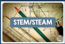 STEM & STEAM Science lessons / STEM & STEAM - Science Technology Engineering, Art and Math lessons and activities for all things biology and life science - scientific method, cells, genetics, evolution, classification, human body, and ecology with a cross curricular background.