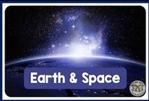 Earth & Space Science / Earth and Space Science in education - great science lessons and activities for teachers to use in their classroom for earth, space, and ocean.