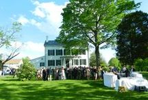 Weddings at Updike Farmstead / Updike Farmstead is an historic six-acre site in the heart of the Princeton Battlefield/Stony Brook Settlement Historic District. It includes a beautifully restored late 18th/early 19th century farmhouse, with an expansive back porch overlooking the bucolic landscape of preserved farmland and an open yard. The large barn, built in 1892, completed renovation in June 2017.  For more information, contact weddings@princetonhistory.org