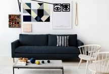 Timeless Geometrics / Linear and geometrics flood home interiors this season! Integrate it in your home with bold geometric prints or fresh pastel textured fabrics